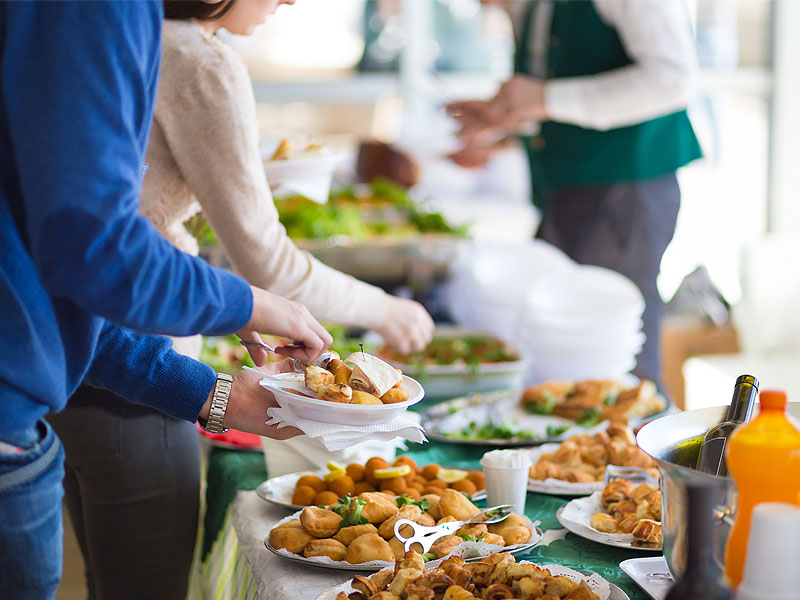 corporate event catering is a booming business