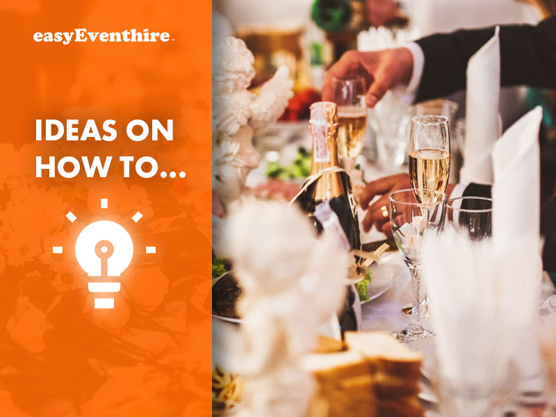 how to plan a big wedding on a small budget