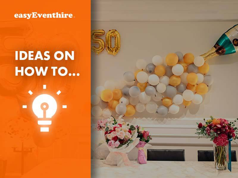 furniture hire for a surprise party