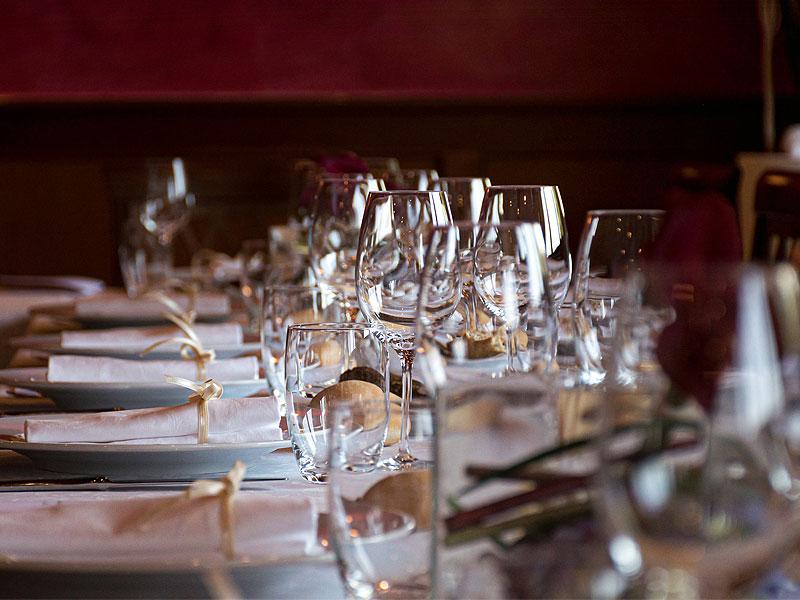 glassware hire for events